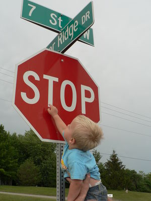 Bode stop sign